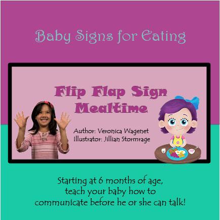 FLIP FLAP SIGN! MEALTIME!_6x6